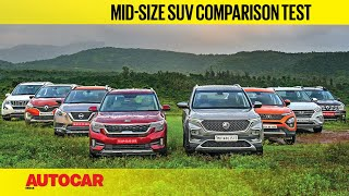 Kia Seltos & MG Hector vs every single rival | Mega SUV Comparison Review | Autocar India