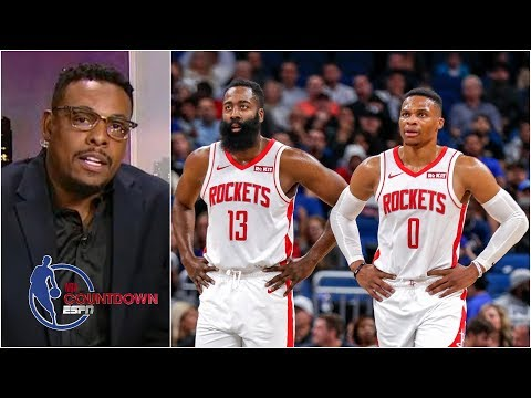 James Harden and Russell Westbrook can win a title with the Rockets – Paul Pierce | NBA Countdown