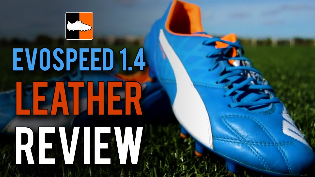 PUMA evoSPEED 1.4 Leather Review Feat. SoheilFootball