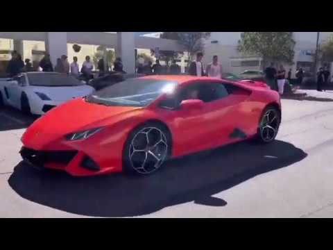 West Coast Exotic Cars Car Show | Best Car Show Ever! BURNOUTS, PULLS, REVVING AND REV BATTLES!