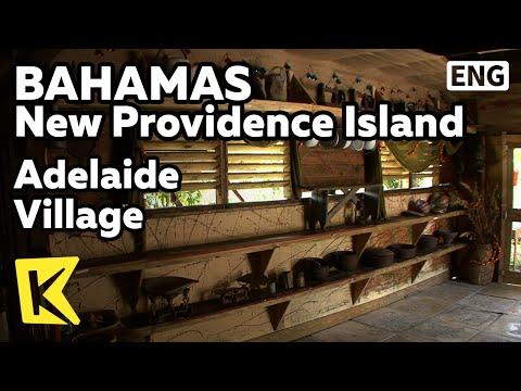 【K】Bahamas Travel-New Providence Island[바하마 여행-뉴프로비던스]애들레이드 마을/Adelaide Village/Local product/Native
