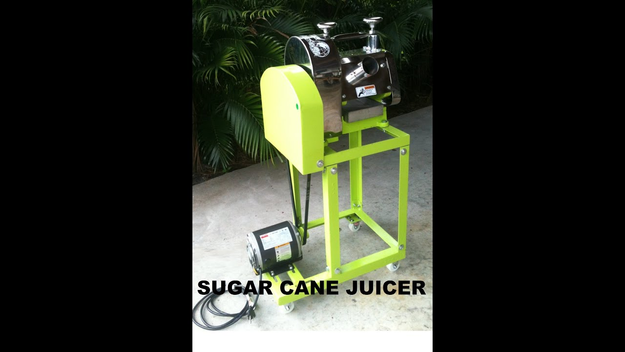 GPF2 Sugar Cane Juicer, Cart, and Motor Explained - YouTube