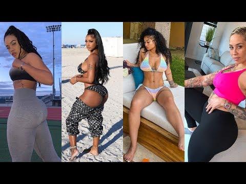 The Thickest Fitness Models In Hip Hop India Love Bernice Burgos Megan Denise Tori Brix