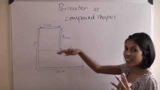 Calculate Perimeter Compound Shape