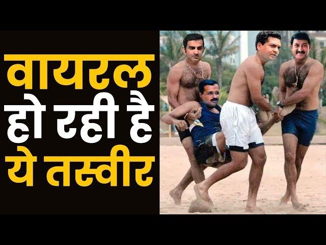Virendra Sehwag द्वारा Social media पर पोस्ट की गयी तस्वीर के साथ छेड़छाड़ करके ऐसा कर दिया गया है
