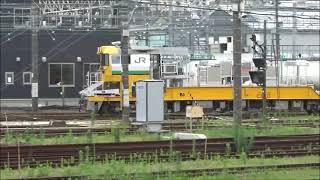 2021年7月8日 キヤE195系LT-3 編成 越中島送り込み 構内移動