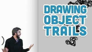 9.7: Drawing Object Trails - p5.js Tutorial