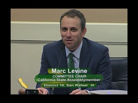 Assemblymember Levine Convenes Informational Hearing on Water Storage Investment