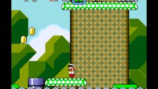 Super Mario World - Yoshi Land!(SNES) - User video