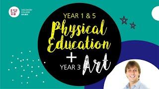 Primary Year 1 & 5 PE, Year 3 Art