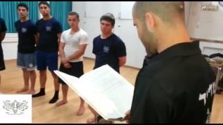 מכתב ממפקד גדס''ר גבעתי - סגן-אלוף אלי ג'ינו - מכין קרית משה צוות ליאל