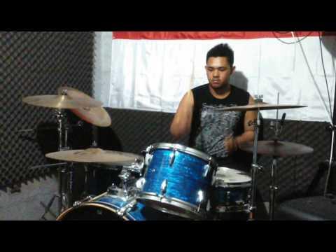 Drum Cover KEPADA PERANG(GONG 2000)with Christian Y N
