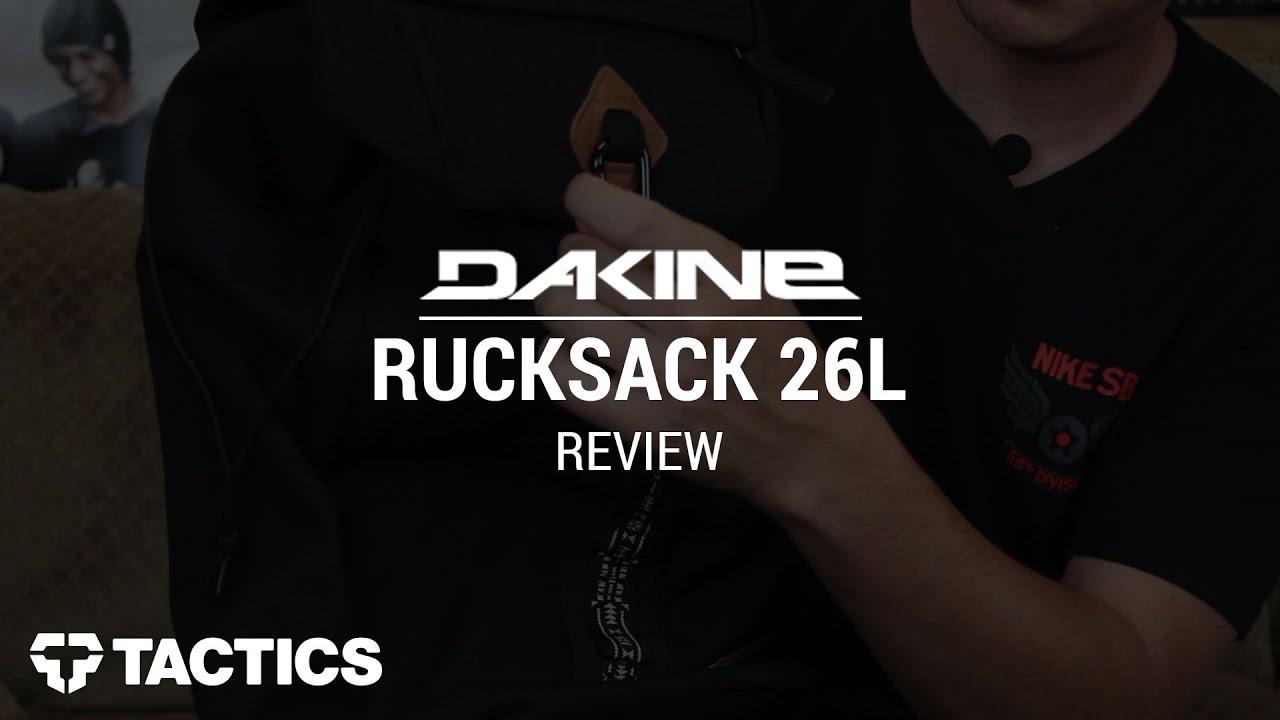 DAKINE Rucksack 26L 2015 Backpack Review - Tactics.com - YouTube