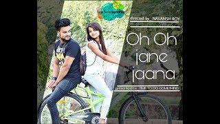 Oh Oh Jane Jaana  90s evergreen hits   salman khan   carzy love story   new version   short film