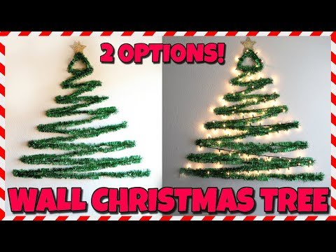 DIY Wall Christmas Tree! 📍 How To With Kristin