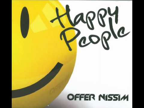 Offer Nissim happy people