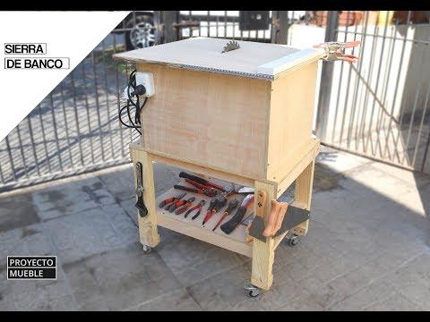 COMO HACER SIERRA DE BANCO, CON SIERRA CIRCULAR! (Estación de herramientas) - PROYECTO MUEBLE