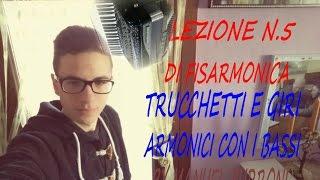 Gambar cover LEZIONE N.5 DI FISARMONICA-TRUCCHETTI E GIRI ARMONICI CON I BASSI