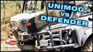 | UNIMOG vs LAND ROVER DEFENDER 90 |