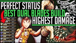 New Best Dual Blades Build - Permanent Sleep + Paralysis - Monster Hunter World Iceborne! #iceborne