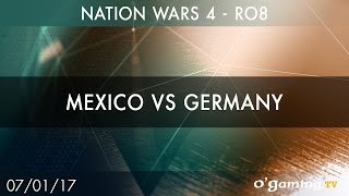 Mexico vs Germany - Nation Wars 4 - Ro8 - Starcraft II - EN(Inscrivez-vous sur le site O'Gaming pour participer et réagir aux émissions : http://www.ogaming.tv/inscription ♢ Retrouvez toutes nos VoDs sur ..., 2017-01-10T13:44:41.000Z)