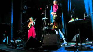 """CocoRosie - """"Big and Black"""" in Englewood, CO on March 25, 2016"""