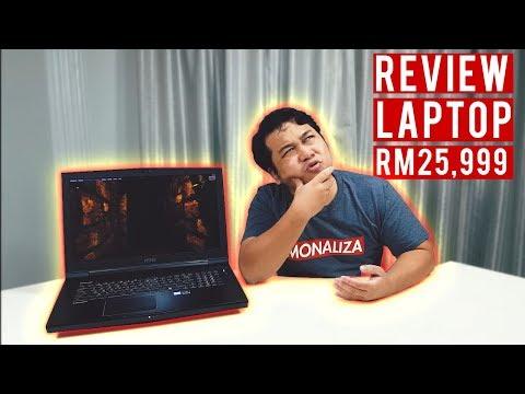 Laptop Orang Kaya RM24,999 - Review MSI Workstation