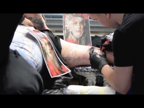 Dmitriy Samohin - Kwadron Tattoo Gallery / Frankfurt, Germany - 2015 / 3 / 21