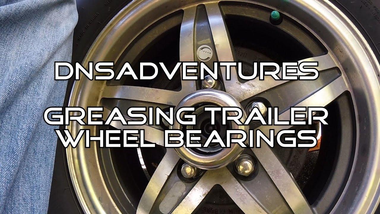 How Often Should You Grease Travel Trailer Wheel Bearings