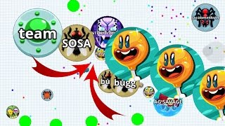 Agario Solo Monster Fails/Wins Best Moments Compilation Agario mobile!