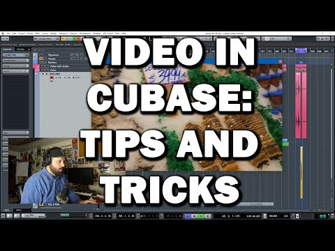 Video in Cubase Tips and Tricks – Locking, Syncing and choosing Codecs
