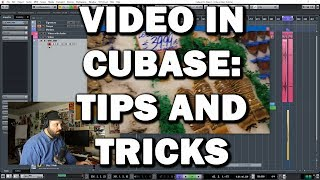 Video in Cubase Tips and Tricks - Locking, Syncing and choosing Codecs