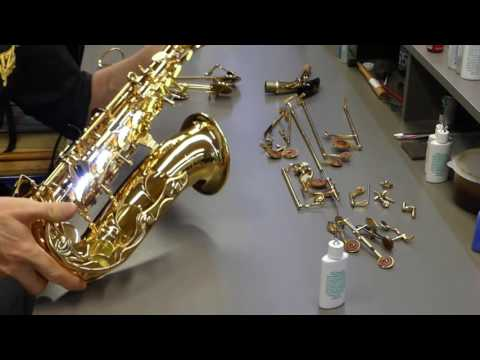 Full Service For A Saxophone