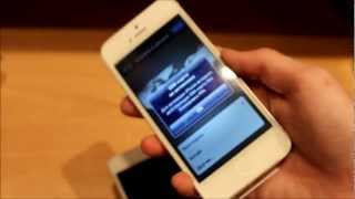 Розпакування iPhone 5 16GB White.