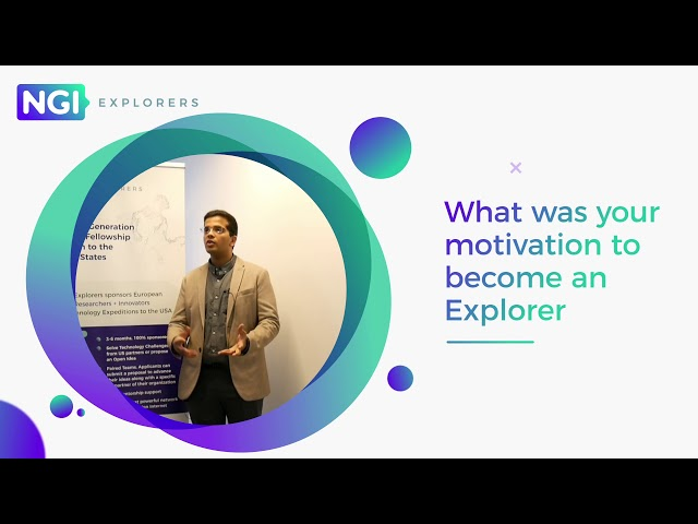 NGI Explorers First Expedition: meet the Explorers | Mohit Taneja
