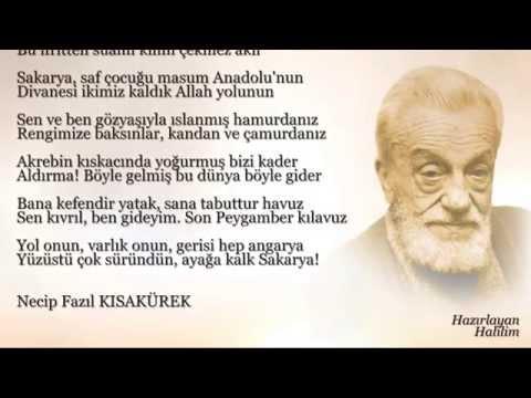 Necip Fazıl Kısakürek - Sakarya Türküsü
