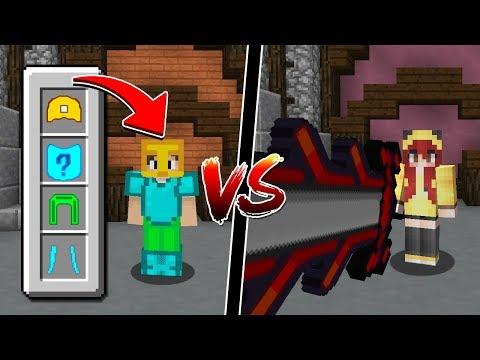 Minecraft: ARMADURA MAIS FEIA E INVENCÍVEL VS ESPADA GIGANTE!!!