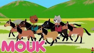 Mouk - Wilde Pferde S02E10 | Karikatur für Kinder