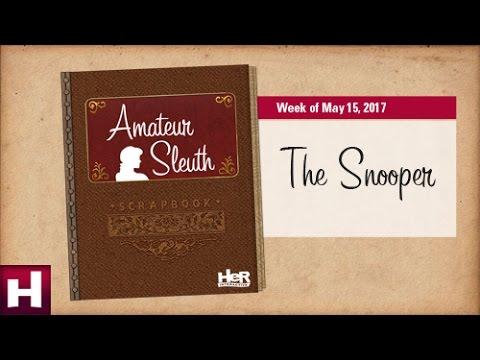 ASB: The Snooper | Nancy Drew Games | HeR Interactive