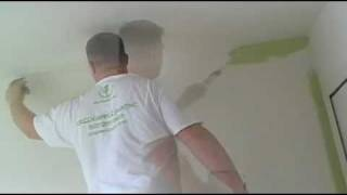the best how to paint a room how to paint video!! pt 2. Like a pro