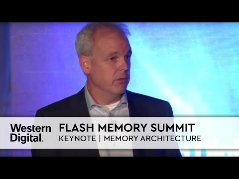 Flash Memory Summit | Western Digital CTO Martin Fink Keynote: Toward a Memory-centric Architecture
