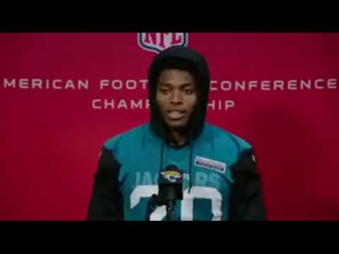 Jalen Ramsey talks matching up with Gronk & Pats trying to gas him up