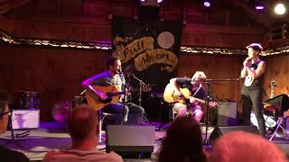 """Frank Turner performs """"Silent Key"""" with Tom Hanson and Rebecca Chaney"""