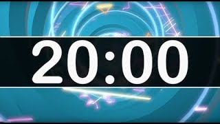 20 Minute Timer with Happy Upbeat Music for Kids! Countdown Timer, Chill Relaxing Instrumental