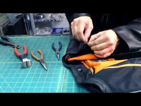 403 Leather Care - How To Replace a Zipper By Jamin' Leather