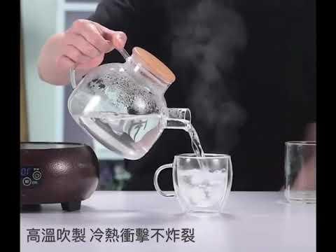 現貨!雙層玻璃杯 350ml 贈玻璃杯蓋 果汁杯 茶杯 玻璃杯子 咖啡杯 高硼矽玻璃 保溫杯蓋【HNK952】#捕夢網