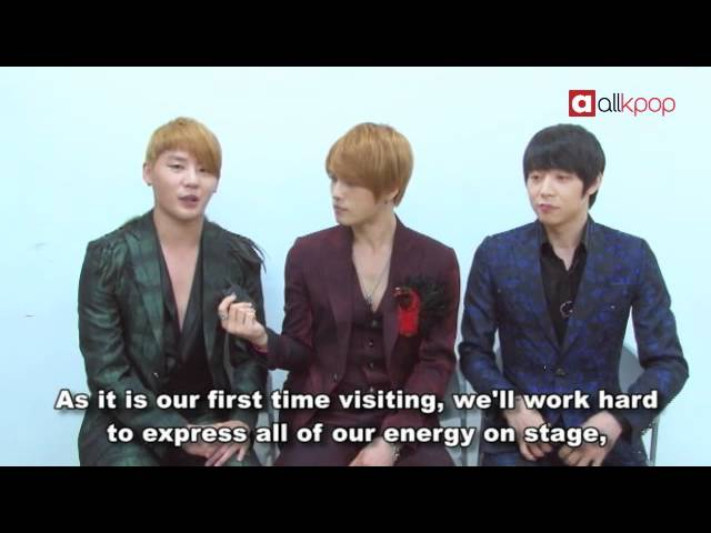 [Exclusive] JYJ's '2011 World Tour' video greeting to fans!