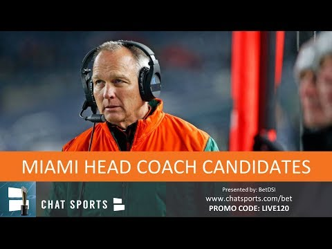 Top 10 Miami Football Head Coach Candidates To Replace Mark Richt In 2019