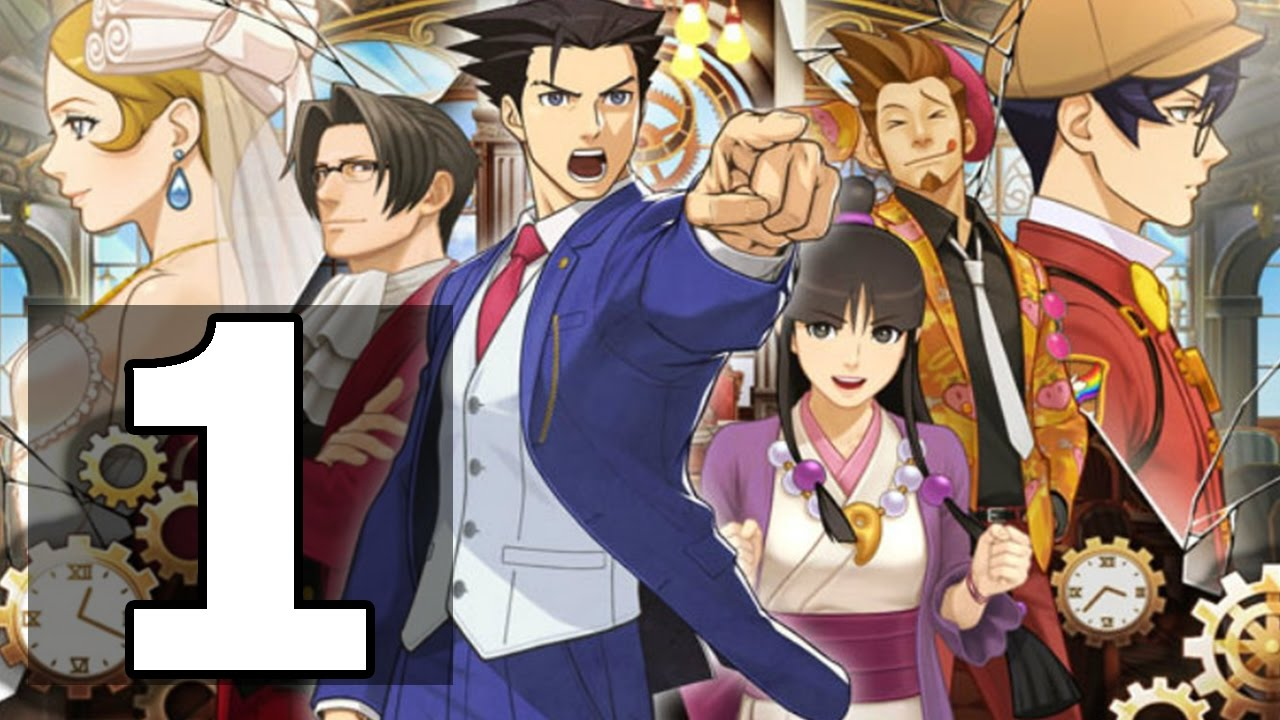 Phoenix Wright: Spirit of Justice Turnabout Time Traveler Walkthrough Part 1 - No Commentary (3DS)