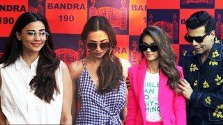 Malaika Arora & Karan Johar At Lifestyle And Fashion Pop Up Exhibit Of  Bandra 190